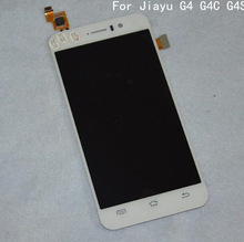 100% Original JY G4 LCD Display+Touch Screen For Jiayu G4C G4T G4S MTK6592 Octa core Android Cell phone Free shipping