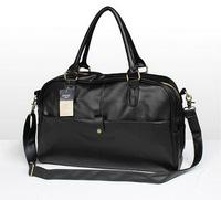 Korean fashion casual man leather handbag shoulder tote bag men Messenger bag briefcase men's travel bags packet luggage travel