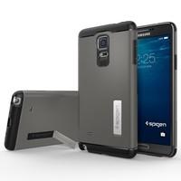 2014 HOT SGP SPIGEN Design Slim Armor Case For Samsung Galaxy Note 4 N9100 TPU+PC Cover