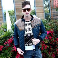 2014 NEW SALE Men jacket overcoat fashion casual Autumn Winter men's coat outerwear Jackets C010