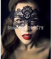 free shipping 30pcs/lot Hot Sale  Sexy black cutout lace mask masquerade mask