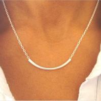 Hot Items !!!  fashion short compact cute little bar pendant chain Dainty necklace
