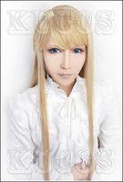 no Asobi Balder Hringhorni Anime Cosplay Costume WigNatural Kanekalon no Lace Front hair wigs Free deliver