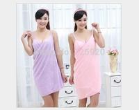 Autumn and winter beach towel robe microfiber sleepwear women's bathrobes lounge 140x73 cm ,free shipping