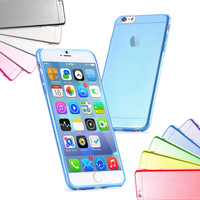 Phne cases cover for iphone 6 4.7 inch Ultra Slim Gel Case Cover for iPhone 6 ten color free shipping
