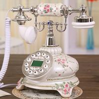 Free shippingAntique telephones European retro fashion creative home fixed telephone landline telephones shipping specials