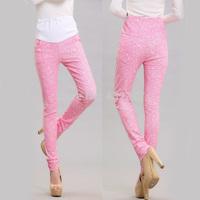 Plus Size XXL Elastic Waist Casual Maternity Pants Pregnant Women Abdominal Belly Denim Pants/Trousers/Jeans Clothes,4 Colors!
