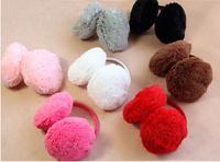 Winter Faux  rabbit Fur Women Girl Ear Muff   winter warm ear protector Warmers Protection Earcap[