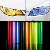 Auto headlights modified color sticker headlight film taillight blackened film fog lamps film pervious to light film