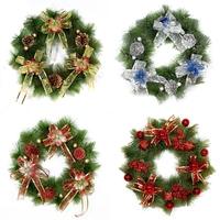 Hot-selling Christmas decoration garland hangings door trim decoration gift props christmas gift