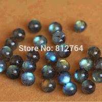 Wholesale 100pcs/lot 6 8 10mm 6A Grade Gourmet Genuine Natural Grey Moonstone Beads DIY Jewelry Fittings Labradorite Stone Beads