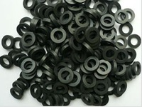 Oil resistant gasket sealing rubber ring rubber gasket tap flat gasket rectangular flat washer non-standard custom-made