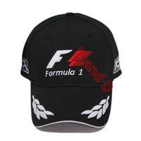 F1 sport hat formula 1 black baseball cap motorcycle race team driver hats hip hop cap