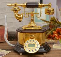 Free shippingSpecial shipping European retro antique telephone landline telephones resplendent have Caller ID