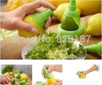 2014 new Cooking Tools Lemon Fruit Citrus Lime Orange Stem Sprayer Juice Maker Juicer Kitchen Supplies#45721