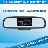 "4.3"" Global TFT LCD Rearview Mirror Monitor Car Rear Monitors Hot Selling"