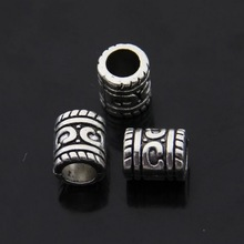 Free Shipping Wholesale 50pcs/lot Antique Silver Alloy European Bead Jewelry Fits for European Pandora Bracelet / Necklace DIY