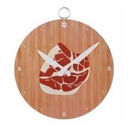 1 Piece Chopping Block Wall Clock Novelty Clock Meat Cuts Wall Clock