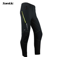 SANTIC New Mens Windproof Outdoor Cycling Bike Bicycle Running Fitness ciclismo Pants Winproof Casual Trousers Clothing M-3XL