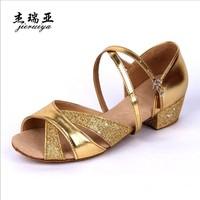 Hot Children Latin Shoes Girl Dancing Shoes Free Shipping S14102101