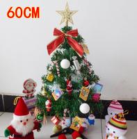 Christmas tree decoration 60cm belt candy luxury decoration desktop mini