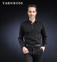BOSS men's 2014 spring new men's business casual loose long-sleeved T-shirt shirt