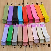 5cm Double Prong Full Lined Grosgrain Ribbon Hair Clip Plain Baby Clip 80pcs/Lot