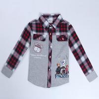 children shirts boys clothing nova brand kids wear fashion frozen clothes spring/autumn long sleeve shirts for baby boys A5385Y