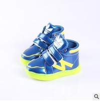 Free shipping 2014 fashion Unisex Sport Shoes Sneakers Running Shoes casual shoes boys girls Sneakers kids shoes size 21-25  A86