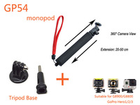 SJCAM Mount monopod GP54 tripod mount accessories For G8800 G8900 Gopro Hero 3+ 3 2 1 GOTOP SJ4000