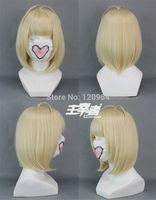 Exorcist Shiemi Moriyama Anime Cosplay Costume Wig Natural Kanekalon no Lace Front hair wigs Free deliver