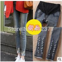 Jeans Maternity Pants For Pregnant Women Pregnancy Denim Trousers Motherhood Lactation Clothes