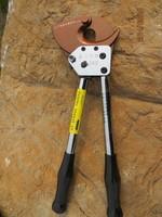 J130 ratchet cable bolt shear cut 13 cm diameter copper aluminum core armored cable cable cut