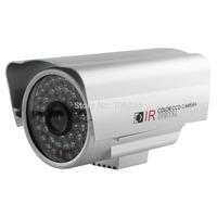 48LEDS 6MM CMOS SILVER CCTV CAMERA A06S-C6