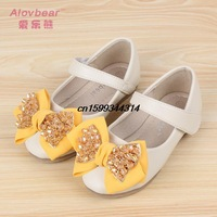 new spring and summer 2014 girls shoes fashion camouflage bow girl Princess shoe exports South Korea children sandals