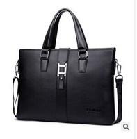 Free shipping Men's business casual shoulder bag Mobile Messenger bag briefcase
