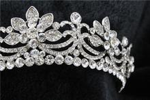 Luxury Classic Bride European Rhinestone crystal Bridal Hair Crown Tiara wedding dress crown hairwear