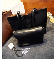 New arrival hot tide wholesale autumn fashion retro handbag 2 piece suit lash package shoulder bag