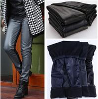 fashion autumn women winter leggings pu faux leather winter women pants leggins capirs long pants all match