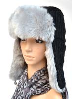 Free shopping 2014 winter fur cap for women Russian Hat sport outdoor ear flaps bomber lei feng caps for Wool men aviator hats