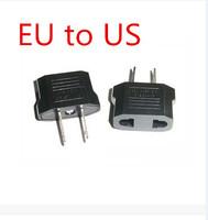 New arrive: 20pcs/lot EU To US Travel Charger AC Power Plug Adapter Converter wholesale