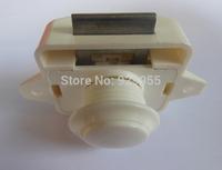 White Push Lock for motor home RV Ambulance Trailer Lock Caravan Push latch Boat knob Yacht Hospital furniture lock