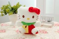 Free shipping hello kitty plush toy mini size 20cm fruit style kitty soft stuffed toy Christmas gift 10pcs/lot
