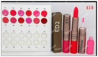 FREE SHIPPING!NEW LIPSTICK & PINK  LIP GLOSS (60PCS/lot) 12 colors