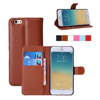Luxury Leather Flip Case For Apple iphone 6 6s 4.7inch Phone Cover Cases With Wallet & Stand Function Free Screen Protector