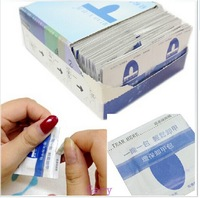 200 Pcs Nail Gel Lacquer Polish Foil Remover Wraps with Acetone / UV Removable Special Environmental Protection Armor Package