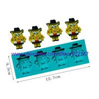SpongeBob shapes silicone cake tools decorating bakery cortadores de fondant pudding cupcake decorative  free shipping