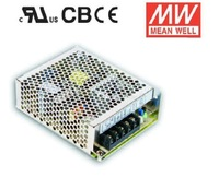 MEANWELL MEAN WELL RS-75-3.3, RS-75-5, RS-75-12, RS-75-15, RS-75-24, RS-75-48 75W Output Switching Power Supply RS-75 Series