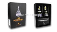 2014 2nd Gen 60W 6000LM LED Headlight Kit 30W Bulbs H11 H9 H8 9005 HB3 9006 HB4 xenon hid Free Shipping