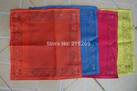 custom print polyseter bandanas, 20pcs, 55X55CM